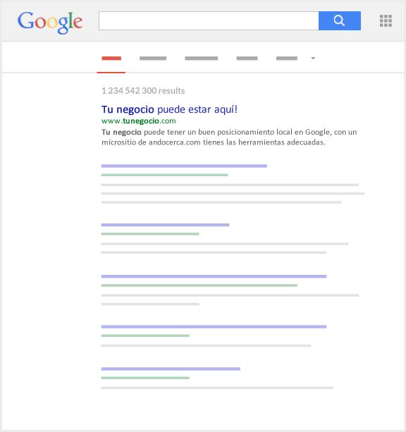 posicionamiento local google merida negocio